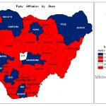 Nigeria Party Affiliation by state