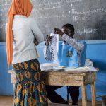 Sierra Leone, 2018, elections, woman, voting