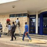 Malawi businesses board up ahead of the Constitutional Court verdict