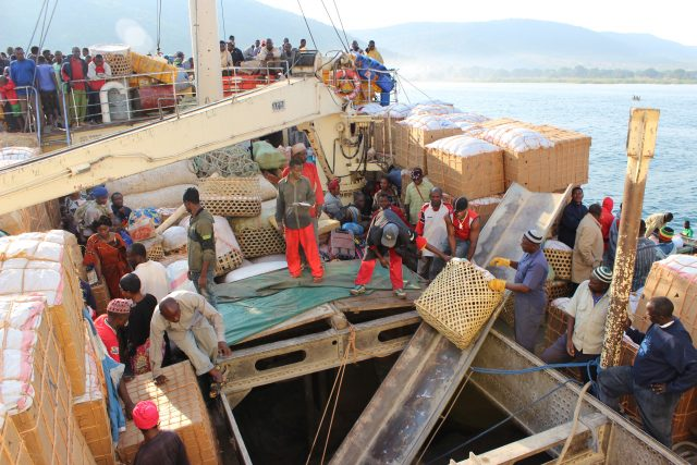 Credit: The MV Liemba trading with locals on its way to Kigoma, Tanzania/Maximillian Köster