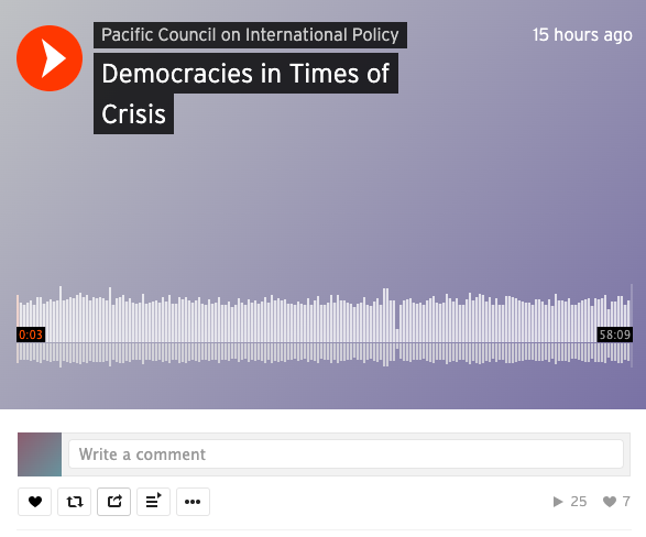 Podcast: Democracy in Times of Crisis
