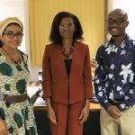 Hilary Gbedemah (Current Chair Of The Cedaw Committee) With Akosua Adomako Ampofo And Jovia Salifu (During An Interview For Archives Of Activism Project)