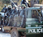 New police gear, Lusaka, 2016, Credit- Zambian Watchdog, 2016.