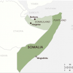 Map showing Somaliland (credit: Council for Foreign Relations)