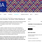 Decolonizing the Academy: African Politics Reading List
